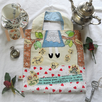 Book Bag with Alice In Wonderland Theme