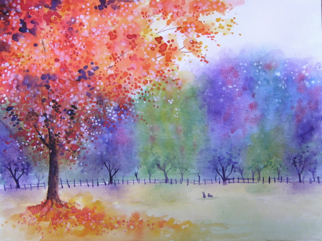 Autumn Glory fine art card