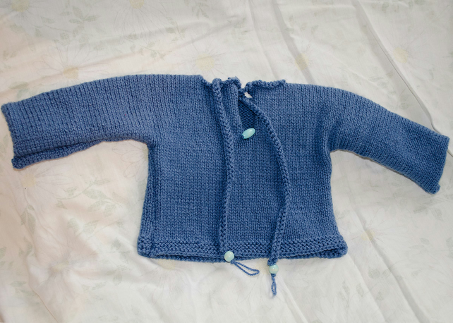 BOHO Baby Reversible Jumper Blue