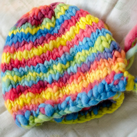RAINBOW BOHO BONNET