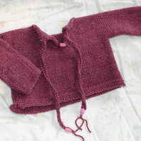 BOHO Baby Reversible Jumper