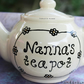Personalised teapot, Birthday gift, personalised gifts, Grandparent gifts