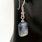 Kyanite drop dangle earrings sterling silver handmade gemstone UK