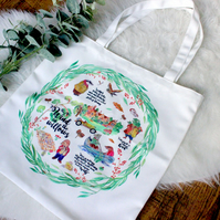 Wind in the Willows Tote Shopper Bag