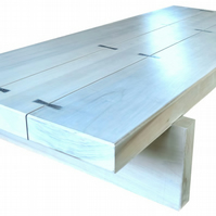 'Driftwood' sleeper coffee table