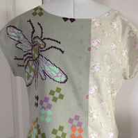 Ladies Shirt Top (Honey Bee)