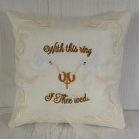 Dove Ring PIllow