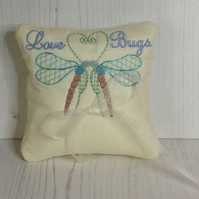 Love Bugs Rng Pillow