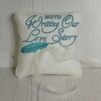 Love Story Ring Pillow