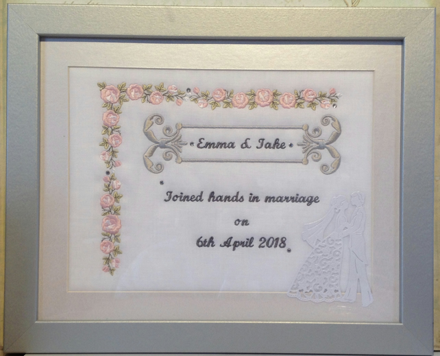 Wedding Plaque Personalised