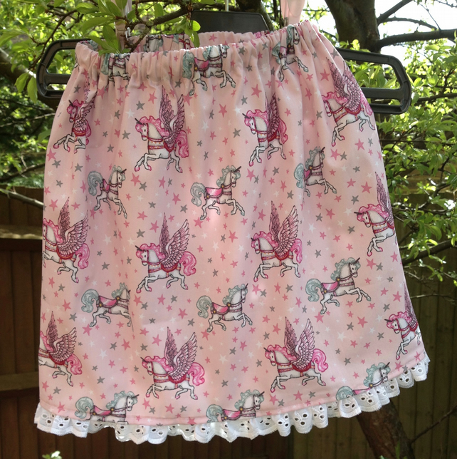 Pink Unicorn Skirt