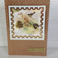Nature Themed Greeting Card
