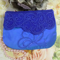 Butterfly Lace Clutch
