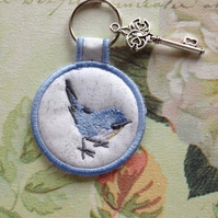 Bluebird Key Ring