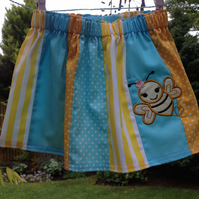 Bumble Bee Applique Skirt