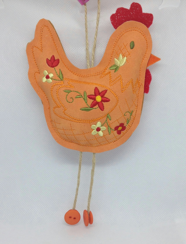 Rooster Hanging Ornament