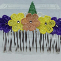 Lace Hair Comb (Design 1)