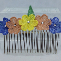Lace Hair Comb (Design 2)