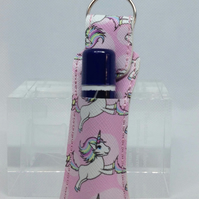 Light Pink Unicorn Lip Balm Case