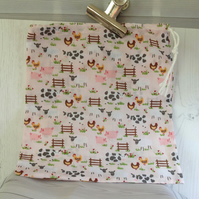 Farm Animal Tidy Bag (Pink)