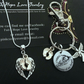 Mummy Of An Angel Keyring Keychain & 925 Silver Chain Set Keepsake Miscarriage