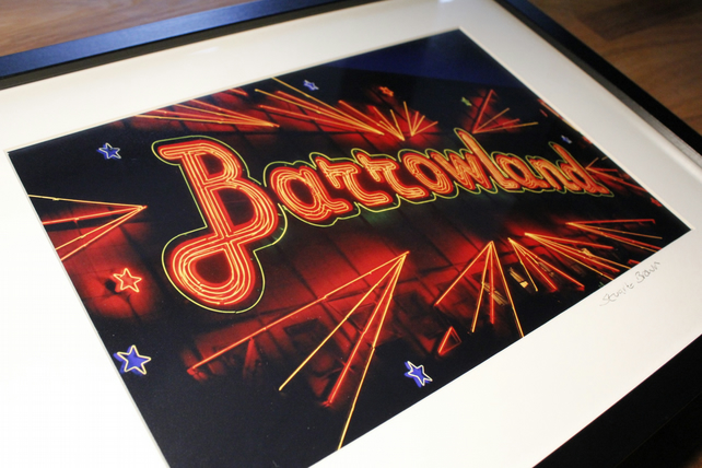 BARROWLANDS GLASGOW framed