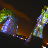 ANDY SCOTT'S KELPIES  (version 5)  blank greeting card