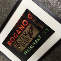 ROGANO GLASGOW framed