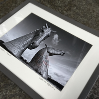 Andy Scott's Kelpies  SIGNED FRAMED PRINT