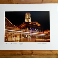 Gallery of Modern Art, Glasgow Signed Mounted Print FREE DELIVERY