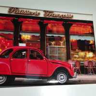 2CV, GLASGOW  fridge magnet