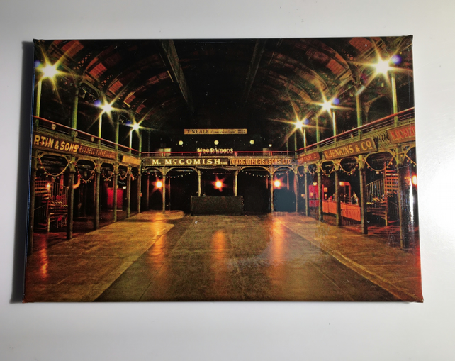 THE OLD FRUITMARKET, GLASGOW  fridge magnet