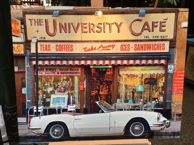 UNIVERITY CAFE, GLASGOW Premium high definition print on aluminium