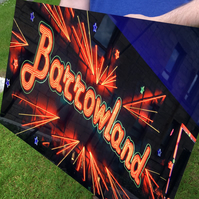 BARROWLAND, GLASGOW Premium large high definition print on aluminium