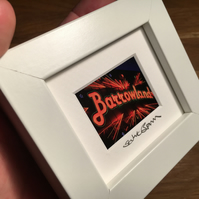 BARROWLANDS,  GLASGOW mini signed and framed print