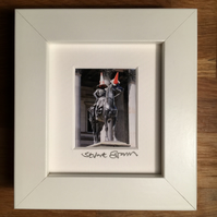 DUKE & CONE, GLASGOW mini signed and framed print