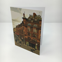 CHARING CROSS, GLASGOW blank greeting card