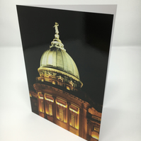 THE MITCHELL LIBRARY,  GLASGOW blank greeting card