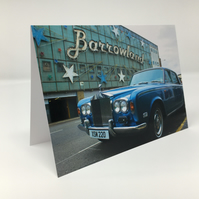 Rolls-Royce at Barrowland Glasgow BLANK GREETING CARD