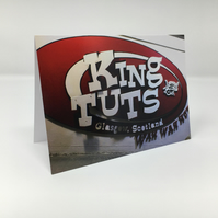King Tut's (wah wah hut), Glasgow BLANK GREETING CARD