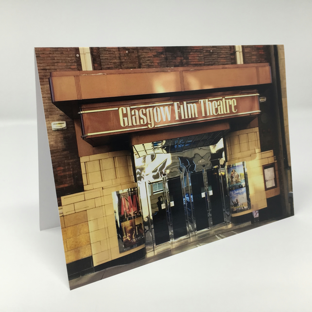 GFT Cinema Glasgow,  blank greeting card
