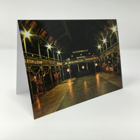 The Old Fruitmarket, Glasgow BLANK GREETING CARD