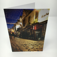 ASHTON LANE blank greeting card