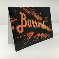Barrowland, Glasgow BLANK GREETING CARD