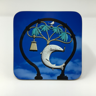 'Glasgow Coat of Arms' coaster FREE DELIVERY