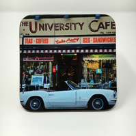 UNIVERSITY CAFE GLASGOW coaster