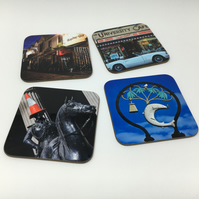 ANY 4 COASTERS FOR FIFTEEN POUNDS