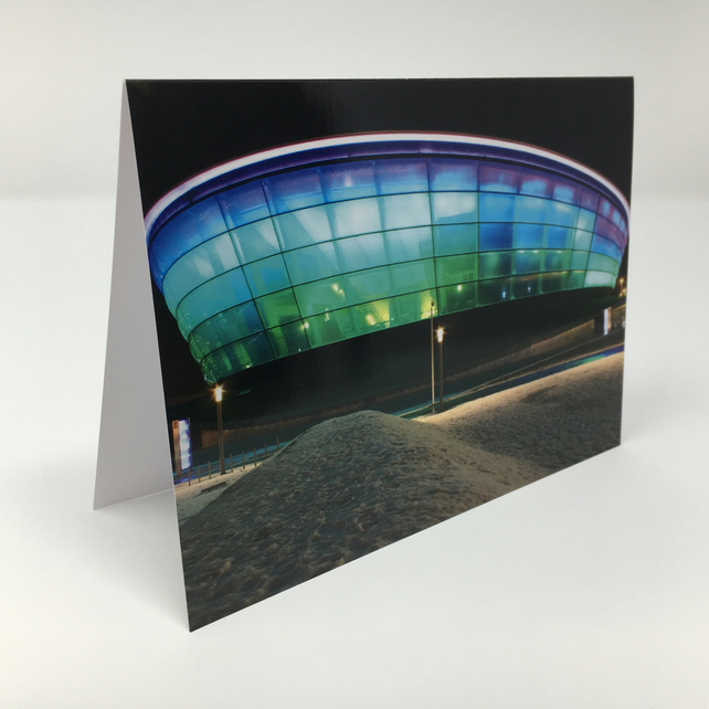 The Hydro Glasgow, blank greeting card