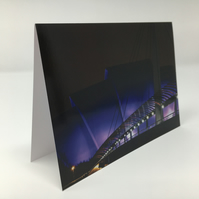 SEC Armadillo Glasgow, blank greeting card