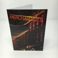 Merchant City,  blank greeting card